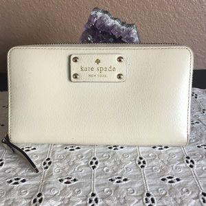 Kate Spade Wallet Cream Color